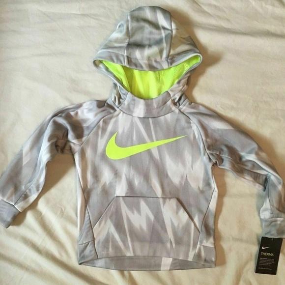 aaa626bb Nike Shirts & Tops   Drifit Boys Therma Hoodie Sweatshirt 4xs Nwt ...